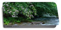 Summer Along Birch River Portable Battery Charger