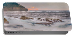 Sunrise Seascape And Headland Portable Battery Charger