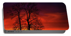 Portable Battery Charger featuring the photograph Sunset by Bess Hamiti