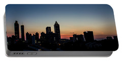 Sunset In Atlanta Portable Battery Charger