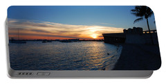 Portable Battery Charger featuring the photograph 2- Sunset In Paradise by Joseph Keane