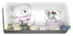 Teddy Bear Conversations Portable Battery Charger