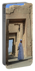 Portable Battery Charger featuring the photograph Temple Of Kom Ombo by Silvia Bruno