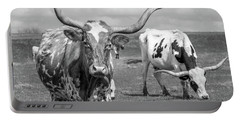 Texas Longhorns Portable Battery Charger