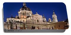 The Almudena Cathedral Portable Battery Charger