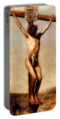 The Crucifixion Portable Battery Charger