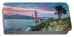 The Golden Gate Portable Battery Charger by JR Photography