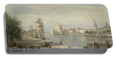 The Harbor Of La Rochelle Portable Battery Charger