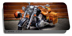 The Indian Motorcycle Portable Battery Charger