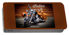 The Indian Motorcycle Portable Battery Charger by David Patterson