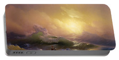 The Ninth Wave Portable Battery Charger by Hovhannes Aivazovsky