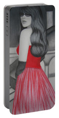 The Red Dress Portable Battery Charger