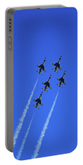 Portable Battery Charger featuring the photograph Thunderbirds Upwards by Raymond Salani III