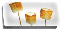 Portable Battery Charger featuring the photograph Toasted Marshmallows by Elena Elisseeva