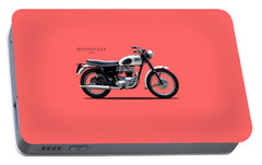 Triumph Bonneville 1963 Portable Battery Charger by Mark Rogan