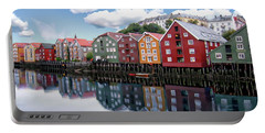 Trondheim Coastal View Portable Battery Charger