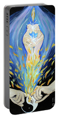 Twin Flame Portable Battery Charger