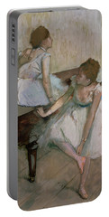 Two Dancers Resting Portable Battery Charger