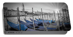 Portable Battery Charger featuring the photograph Venice Grand Canal And St Mark's Campanile by Melanie Viola