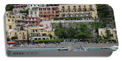 Water Taxi From Amalfi To Positano Portable Battery Charger