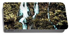 Waterfall Painting Portable Battery Charger