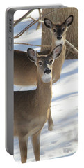 White Tailed Deer Smithtown New York Portable Battery Charger