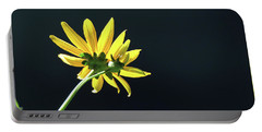 Wild Sunflower Stony Brook New York  Portable Battery Charger by Bob Savage