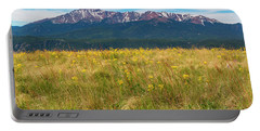Wildflowers And Pikes Peak Portable Battery Charger