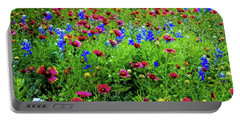 Wildflowers In Bloom Portable Battery Charger