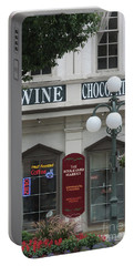 Wine And Chocolate Portable Battery Charger