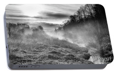 Portable Battery Charger featuring the photograph Winter Mist by Thomas R Fletcher