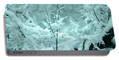 Portable Battery Charger featuring the photograph Winter Wonderland In Switzerland by Susanne Van Hulst