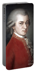 Wolfgang Amadeus Mozart Portable Battery Charger