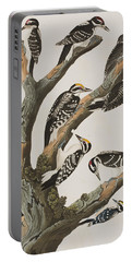 Woodpeckers Portable Battery Charger