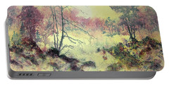 Woods And Wetlands Portable Battery Charger by Carolyn Rosenberger