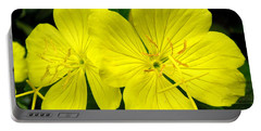 Portable Battery Charger featuring the photograph Yellow Flowers by Stephanie Moore