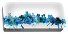 Boston Massachusetts Skyline Portable Battery Charger