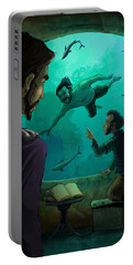 20000 Leagues Under The Sea Portable Battery Charger by Andy Catling