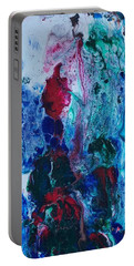 Portable Battery Charger featuring the painting 2001 Hardy by Robbie Masso