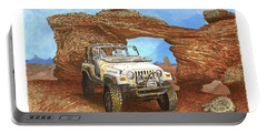 2005 Jeep Rubicon 4 Wheeler Portable Battery Charger
