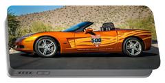 2007 Chevrolet Corvette Indy Pace Car -0003c2 Portable Battery Charger