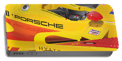 2008 Rs Spyder Illustration Portable Battery Charger by Alain Jamar