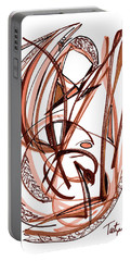 2010 Abstract Drawing Five Portable Battery Charger by Lynne Taetzsch