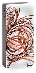 2010 Abstract Drawing Six Portable Battery Charger by Lynne Taetzsch