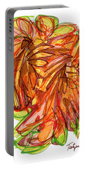 2010 Abstract Drawing Ten Portable Battery Charger by Lynne Taetzsch