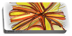 2010 Abstract Drawing Thirteen Portable Battery Charger by Lynne Taetzsch