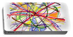 2010 Abstract Drawing Twelve Portable Battery Charger by Lynne Taetzsch