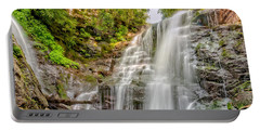 Portable Battery Charger featuring the photograph Rocky Falls by Christopher Holmes