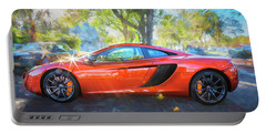 2014 Mclaren Mp4 12c Spider C196 Portable Battery Charger by Rich Franco