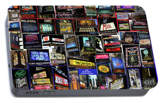 Portable Battery Charger featuring the photograph 2016 Broadway Spring Collage by Steven Spak